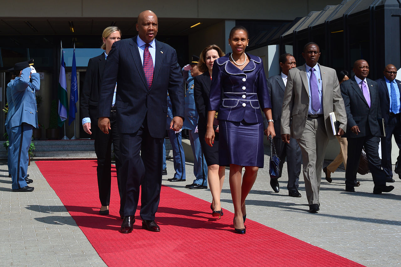 King Letsie III & Queen Masenate Mohato Seeiso (Wien, 2013) © IAEA Imagebank (CC BY-SA 2.0)